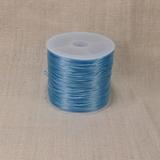 Спандекс плоского сечения, голубой, 0.7 мм (1 метр)