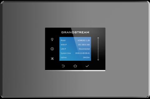 Grandstream UCM6301 - IP ATC. До 500 абонентов / 75 одновременных вызовов, до 75 участников в конф., до 12 FullHD участников в видеоконф., RemoteConnect, 1хFXS, 1xFXO, 1xWAN, 1xLAN, HA