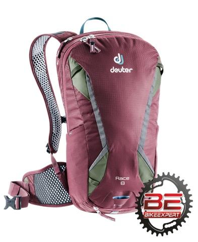 Рюкзак Deuter Race 8 темно-красный