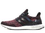 Кроссовки Мужские Adidas Ultra Boost Black Solar Red