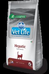 Ветеринарный корм для кошек, FARMINA Vet Life HEPATIC, при печеночной недостаточности