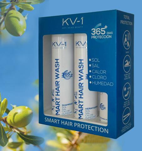 Подарочный набор для волос из трех средств  KV-1