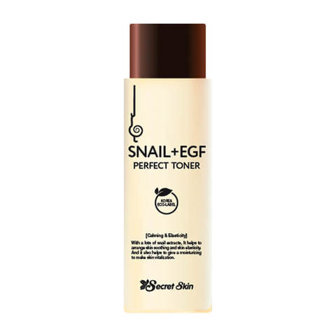 Тонер для лица с экстрактом улитки SECRETSKIN SNAIL+EGF PERFECT TONER 150мл