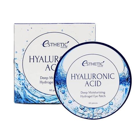Esthetic House Hyaluronic Acid Hydrogel Eye Patch глубокоувлажняющие гидрогелевые патчи с гиалуроновой кислотой