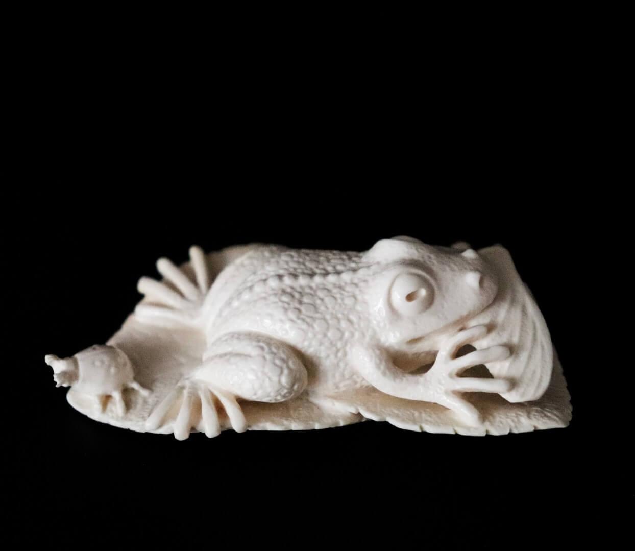 фигурка из бивня мамонта «Лягушка»