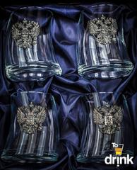 Подарочный набор стаканов для виски «Русский мамонт», фото 3