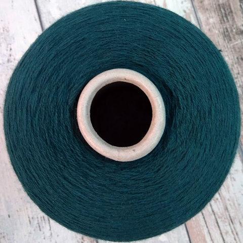 Хлопок с кашемиром (10%) CLEOPATRA 2/30 темно-зеленый