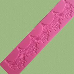 Коврик для айсинга, 39х8см,, силикон Арт.0786-2