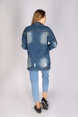 Удлиненная джинсовая куртка женская интернет магазин