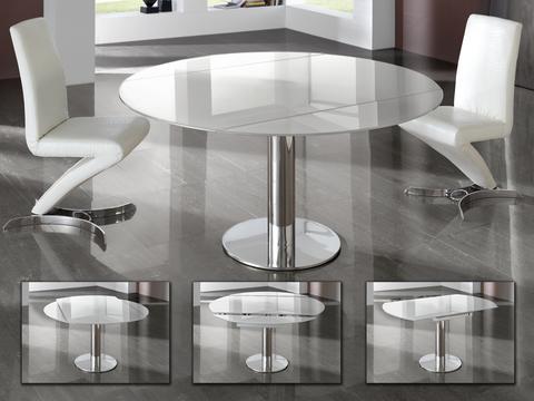 Круглый стол Alba белый