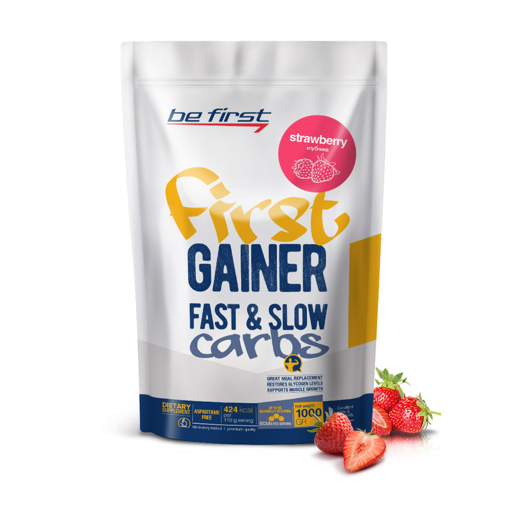 Be First First Gainer Fast & Slow Carbs 1000 гр