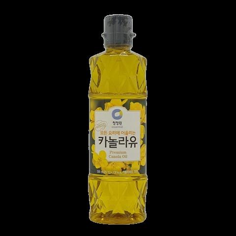 Масло каноловое (рапсовое) рафинированное Premium Canola Oil DAESANG, 500 мл