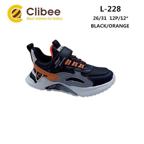 Clibee L228 Black/Orange 26-31