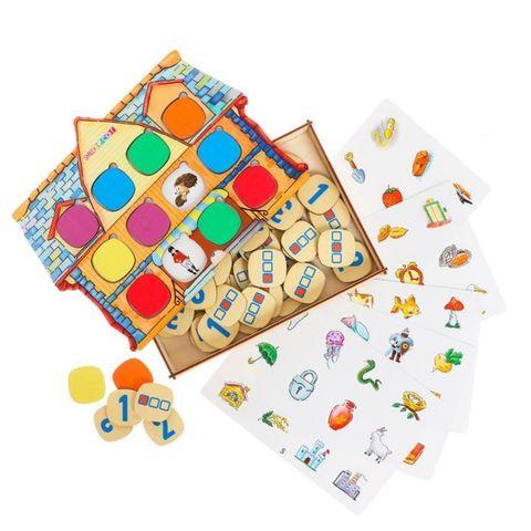 Обучающая игра Домик (серия игр Логопедический городок), Smile Decor, арт. П252