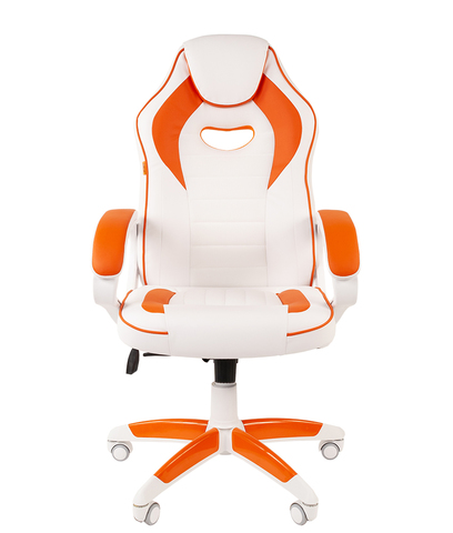 Кресло игровое GAME 16 WHITE (CHAIRMAN)