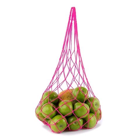 Авоська средняя (6 литров), розовая