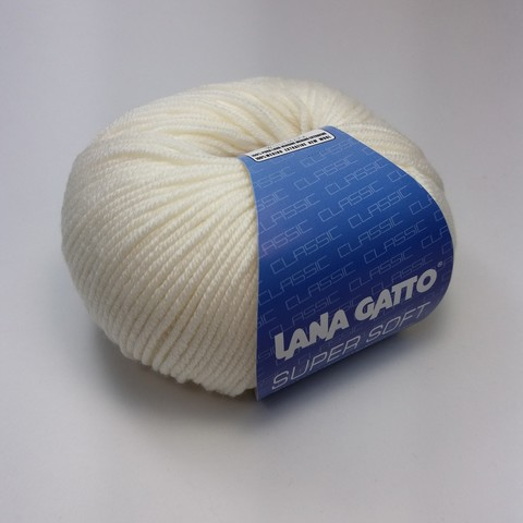 Пряжа Lana Gatto Super Soft цвет 00978