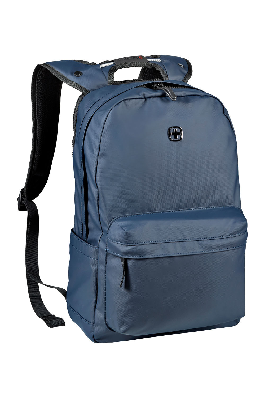 Рюкзак WENGER Photon с водоотталкивающим покрытием, цвет синий, отделение для ноутбука 14