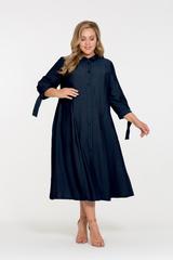 Платье Брилл темно-синий