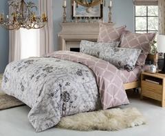 Сатиновое постельное бельё  2 спальное  В-170