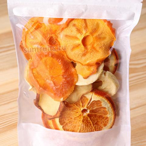 фруктовые чипсы апельсин хурма