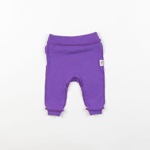 Ruffled leggings 0+, Orchid