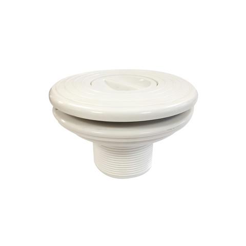 Форсунка стеновая для пылесоса Aquant 21202 (63 мм) под лайнер / 6570