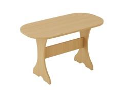 Стол обеденный ОВАЛЬНЫЙ СТ-06 дуб белёный