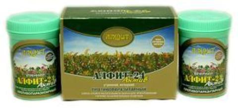 Чай Алфит-Актив № 24 противопаразитарный, 60 бр. (Гален)