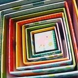 Кубики-пирамида Лес