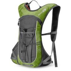 Туристический  Рюкзак Trimm Adventure BIKER, 6 л (зеленый, синий, черный)
