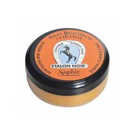 Мыло для повседневного ухода Saphir Etalon Noir Saddle Soap 100 мл