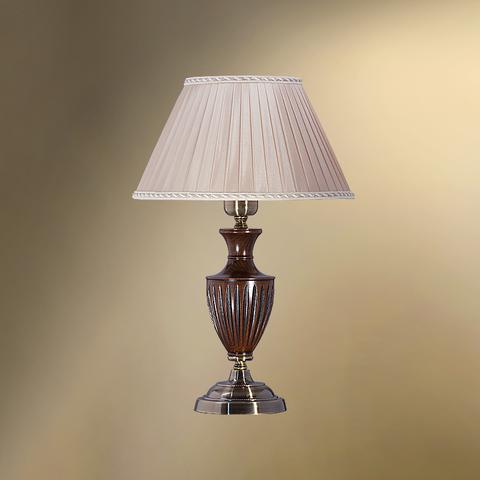 Настольная лампа с абажуром 26-08.56/38380 ВУДСТОК