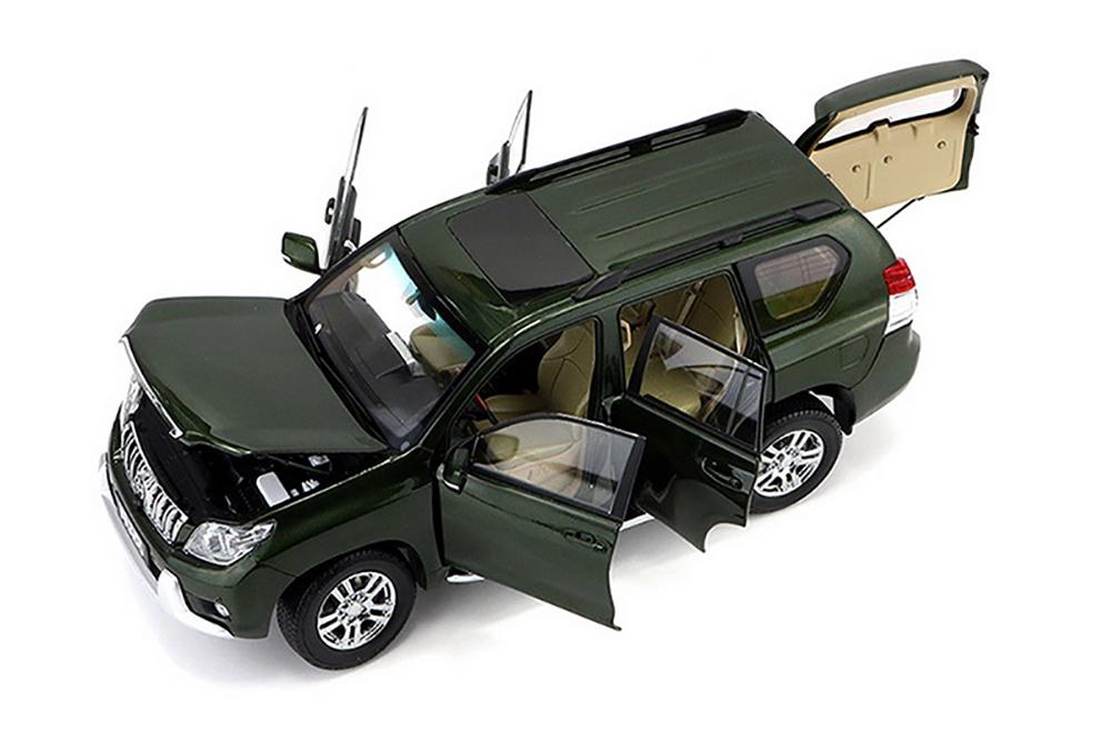 Коллекционная модель TOYOTA LAND CRUISER PRADO 2014 DARK GREEN