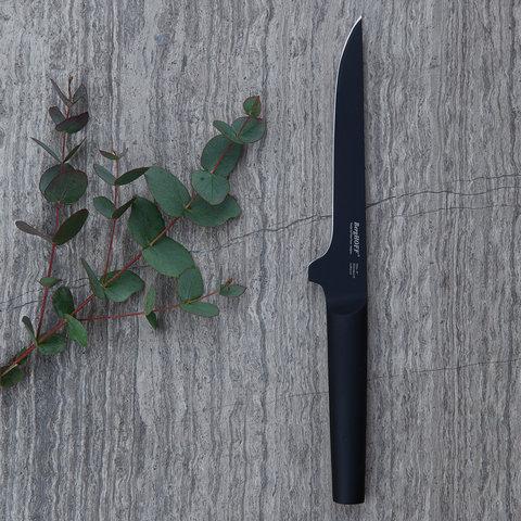 Ron нож для выемки костей 15 см (черный)