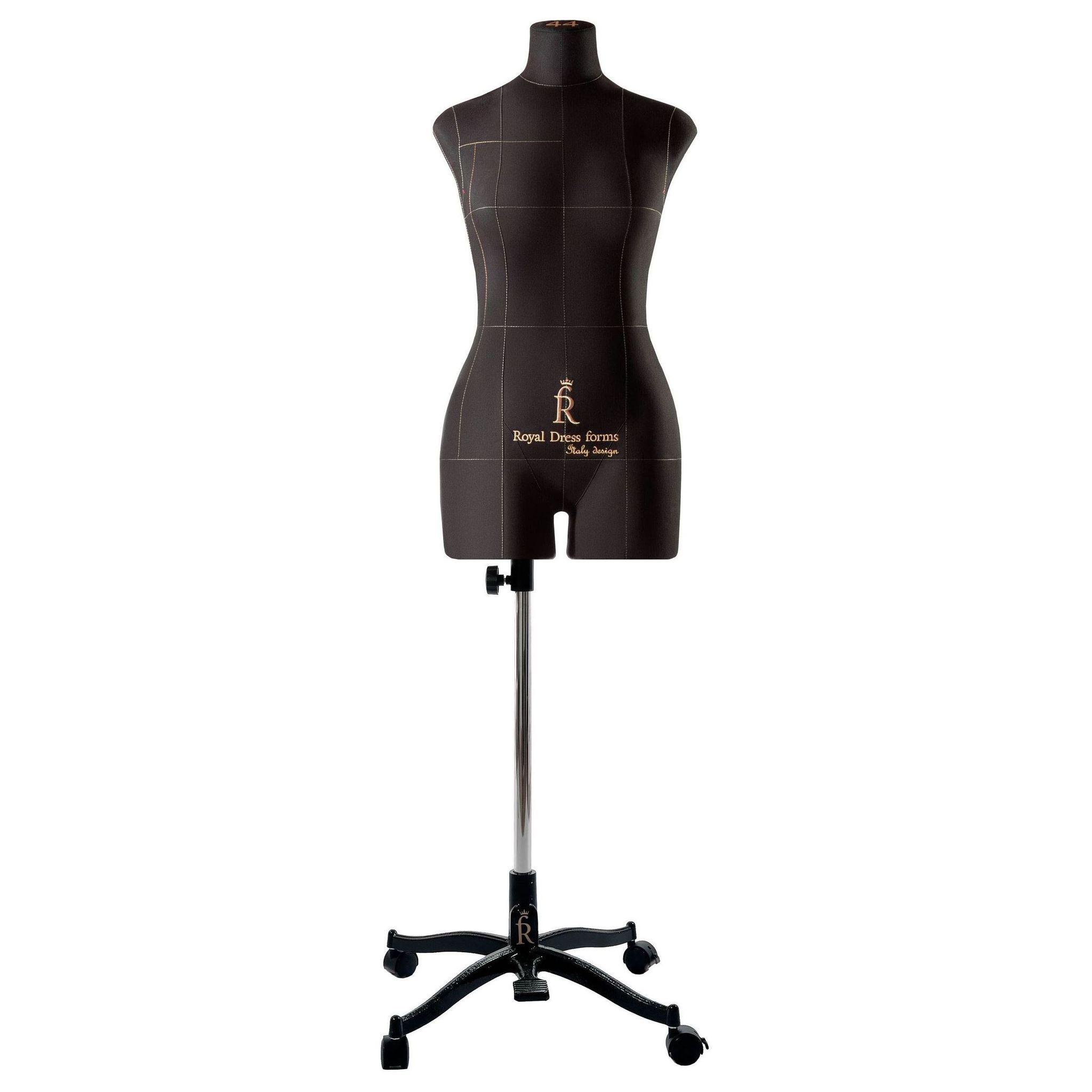 Манекен портновский Моника, комплект Про, размер 44, ЧерныйФото 3