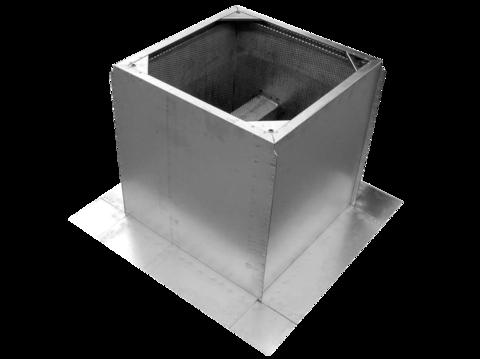 RCS 560-630 Крышный короб с шумоглушением для вентилятора RMV