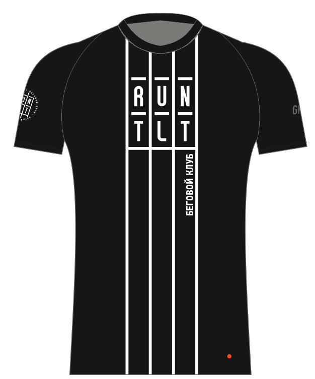 Футболка клубная GRi runtlt, черная, женская