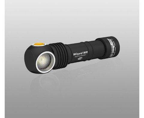 Налобный фонарь Armytek Wizard WR Magnet USB+18650 ( Теплый и красный свет) F06301W