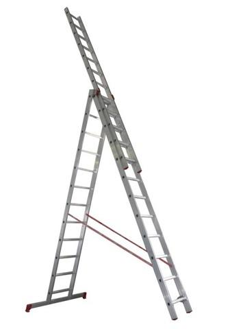 Лестница трёхсекционная Новая высота 3х9