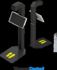 Автономный терминал для бесконтактного измерения температуры тела Promobot Thermocontrol Plus
