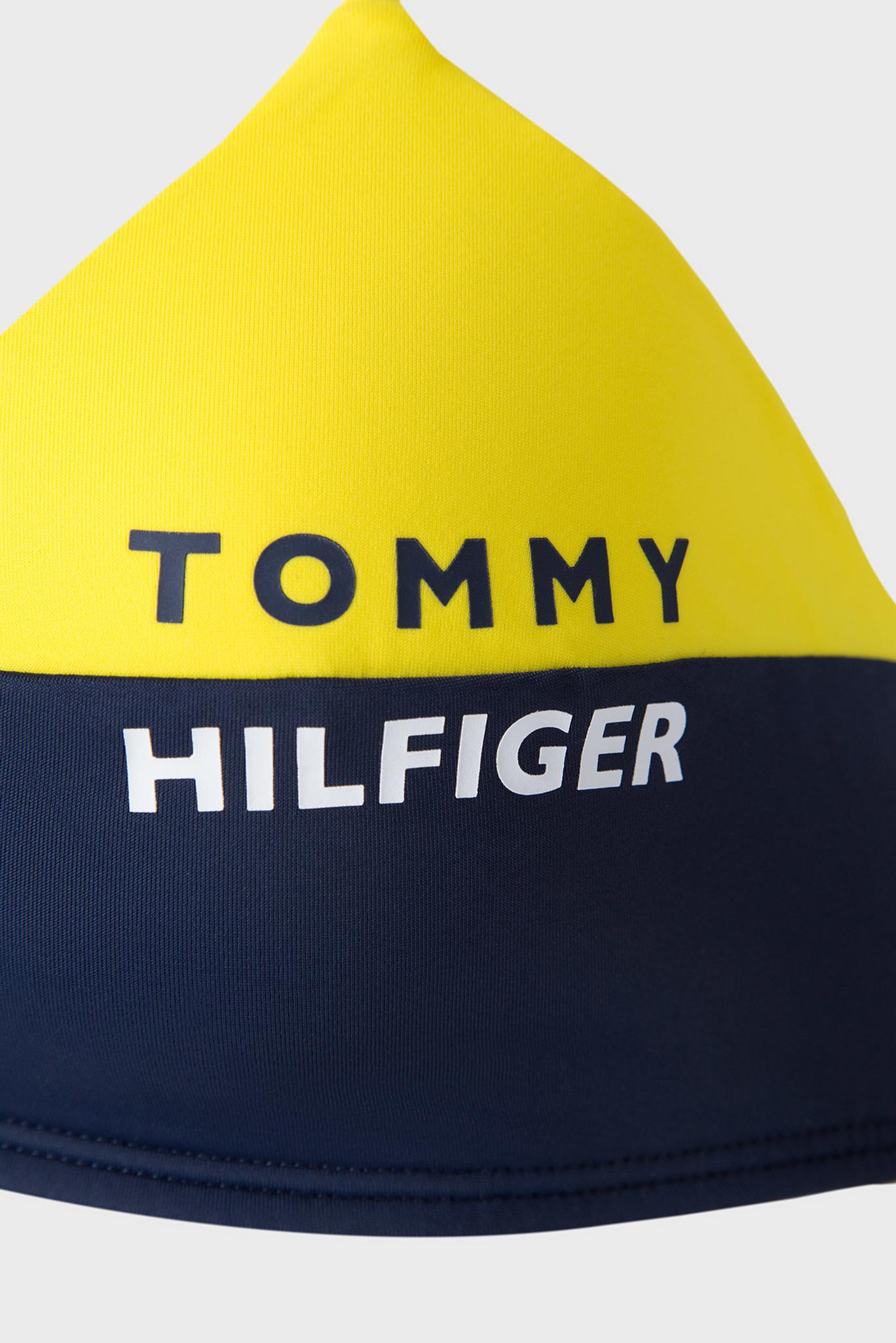 Женский желтый лиф от купальника Tommy Hilfiger