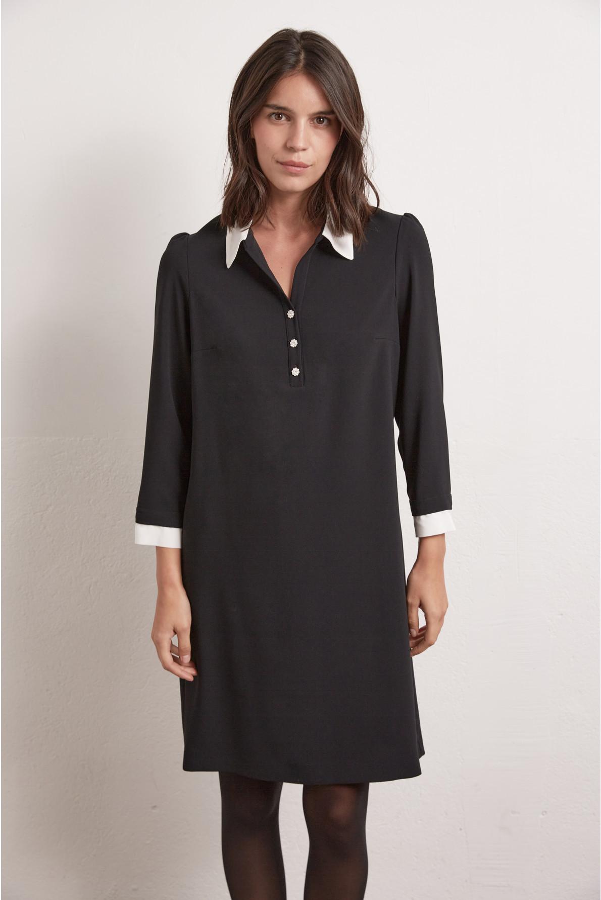 TICIA - Платье-рубашка из крепа