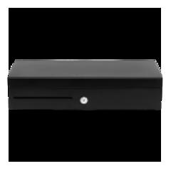 Денежный ящик PayTor FlipTop черный, 460*170*100, 24V, крышка для инкассации.