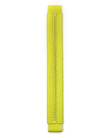 Сменная ручка цвета лайм из гладкой кожи