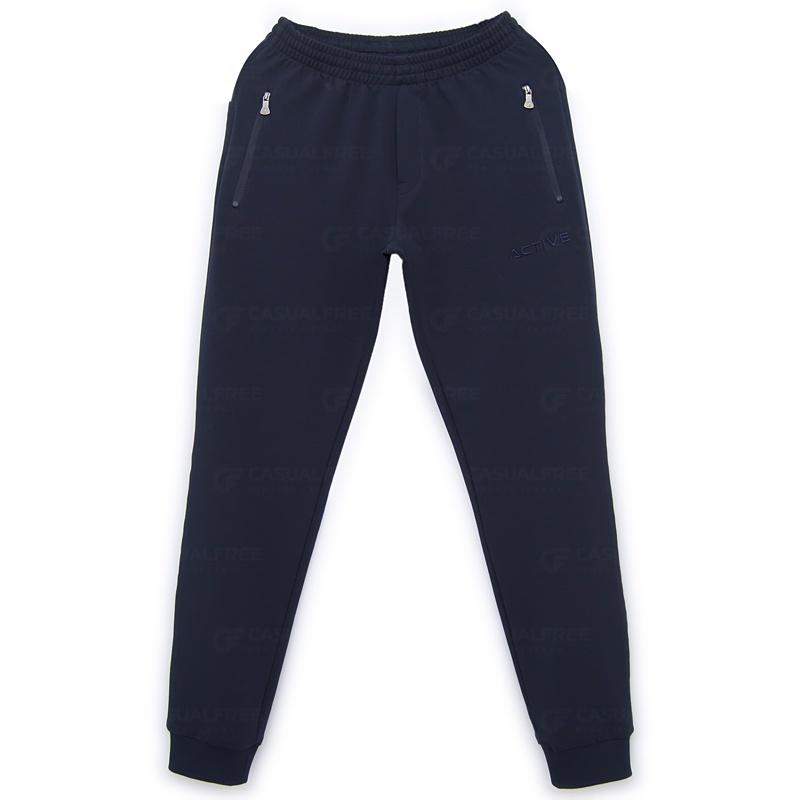 """Спортивные брюки Спортивные брюки """"Red N Rocks"""" 21M-RR-519-тёмно-синий_01.jpg"""