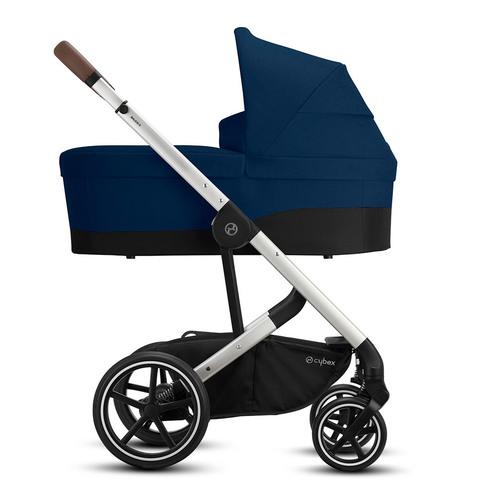 Детская коляска Cybex Balios S Lux SLV 3 в 1 Navy Blue