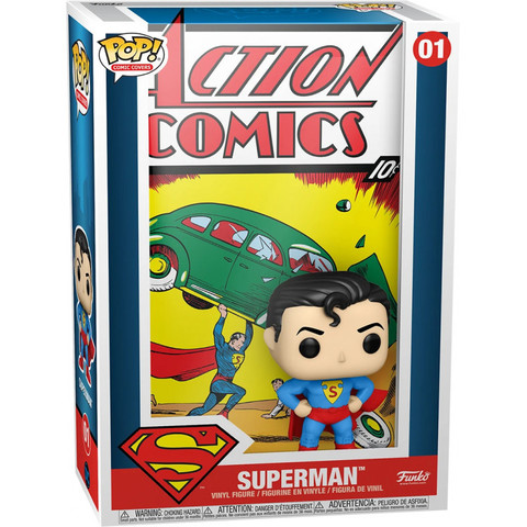 Фигурка Funko POP! Comic Cover DC Superman Action Comic 50468