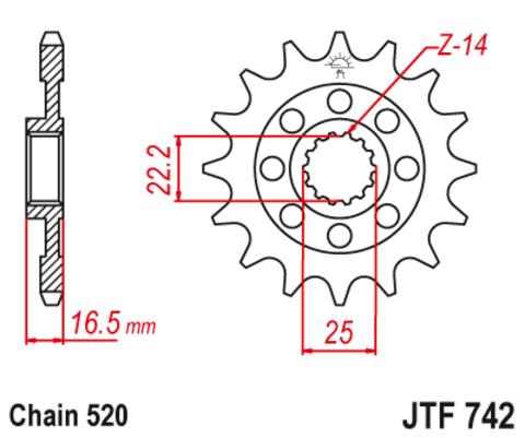 JTF742