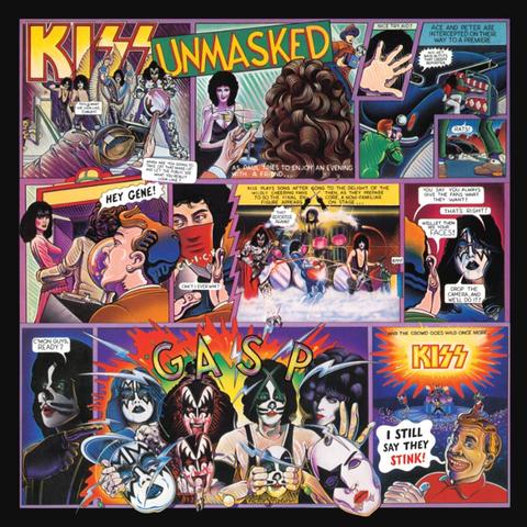 Kiss / Unmasked (LP)